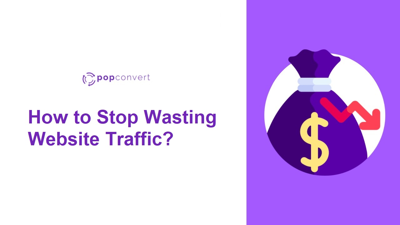Wasting Website Traffic