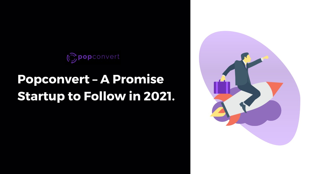popconvert - a promise startup to follow in 2021